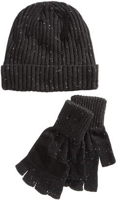 Ryan Seacrest Distinction Ryan Seacrest DistinctionTM Men's Donegal Beanie & Gloves Set