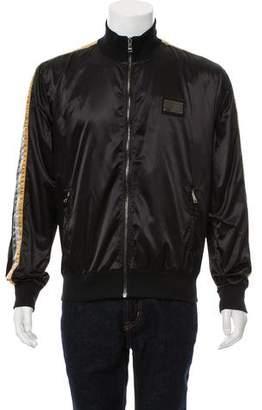 Dolce & Gabbana Lightweight Tap Collar Jacket