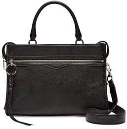 Rebecca Minkoff Bedford Top Zip Leather Satchel