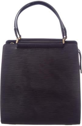 Louis Vuitton Black Epi Leather Figari Pm