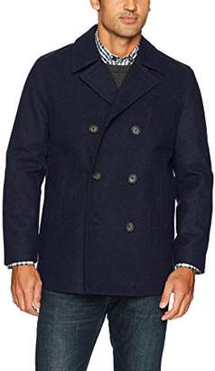 Nautica Men's Double Breasted Wool Peacoat