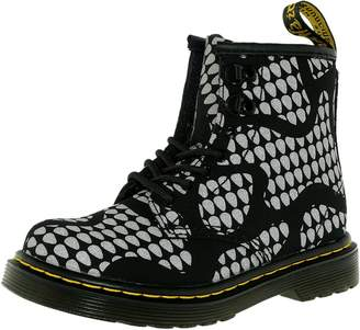 Dr. Martens Boy's Brooklee Snake B Ankle-High Fabric Boot - 9M