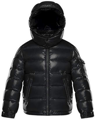Moncler New Maya Puffer Jacket w/ Hood, Size 4-6