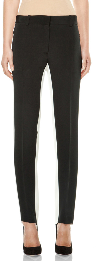 3.1 phillip lim Shadow Pencil Trouser in Black & Antique White