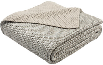 Safavieh Tickled Grey Knit Throw