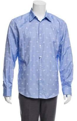 fb5c95e86 Gucci 2018 Bee Jacquard Oxford Duke Shirt w/ Tags