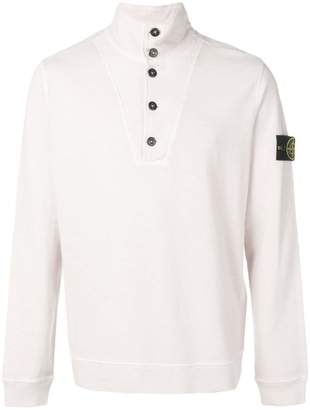 Stone Island half button sweatshirt