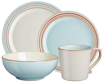 Denby Heritage Pavilion 4 Piece Place Setting, Service for 1