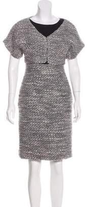 Narciso Rodriguez Wool Knee-Length Dress
