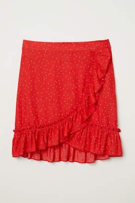 H&M Flounced Skirt - Red