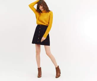 Oasis Check Cord Skirt