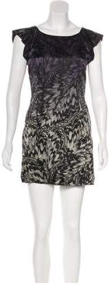 Cynthia Steffe Silk Mini Dress