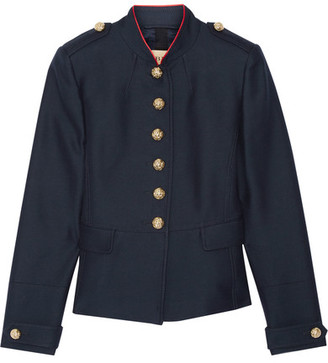 Burberry - Twill Jacket - Navy $895 thestylecure.com
