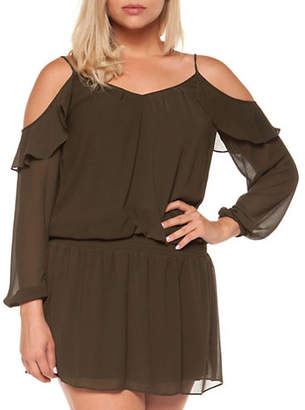 Dex Cold-Shoulder Dress