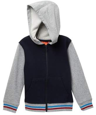 Joe Fresh Varsity Hoodie (Toddler & Little Boys)