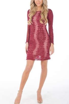 Olivaceous Charlotte Mini Dress