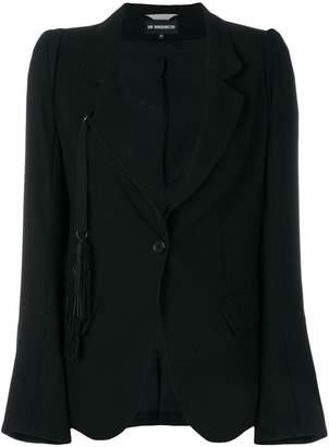 Ann Demeulemeester tassel-embellished blazer