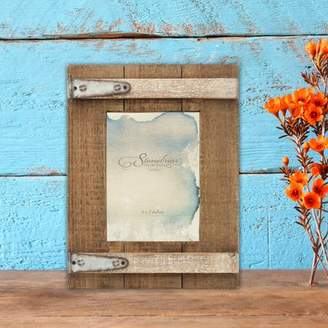 Gracie Oaks Donna Wooden Barn Door Picture Frame