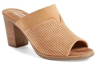 Toms Majorca Peforated Mule