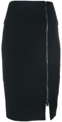 Tom Ford zip-front pencil skirt