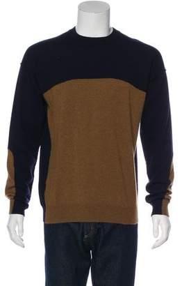 Marni Colorblock Crew Neck Sweater
