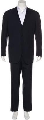 Lanvin Striped Wool Two-Piece Suit