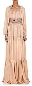 Ulla Johnson Women's Athena Silk Maxi Dress-Rose