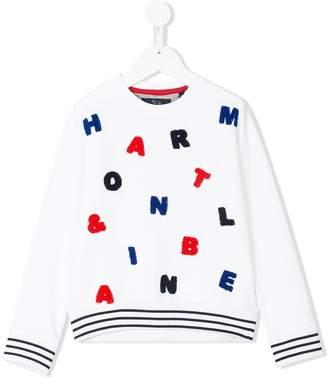 Harmont & Blaine Junior embroidered sweatshirt