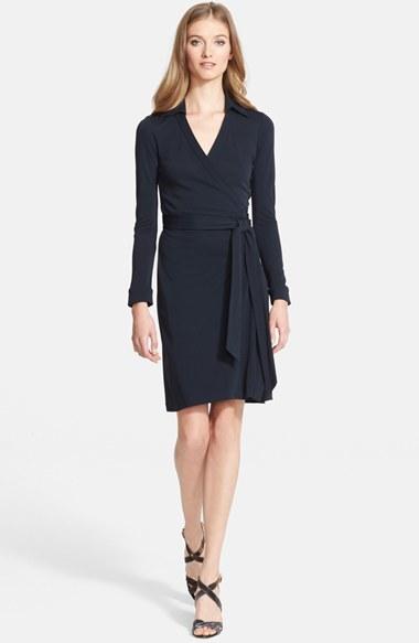 Women's Diane Von Furstenberg 'New Jeanne Two' Jersey Wrap Dress