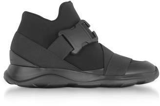 Christopher Kane Black Neoprene High Top Women's Sneakers