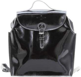 Courreges Patent leather backpack
