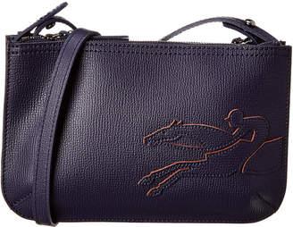 Longchamp Shop-It Leather Crossbody