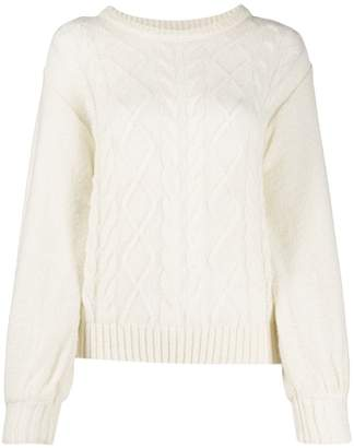 Guardaroba cable knit jumper