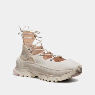 Coach Lace Up Ballerina Sneaker