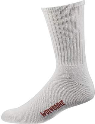 Wolverine Men's 4 Pack Cotton Crew Sock