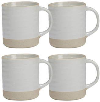 Certified International Artisan 4-Pc. Mug 22oz Set