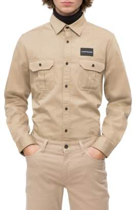 Calvin Klein Jeans Military Shirt
