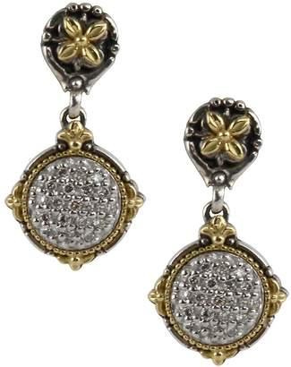Konstantino 18k Yellow Gold Bee Drop Earrings w/ Brown Diamonds gb2xR2Dh
