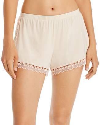 Eberjey Malia Lace-Trim Sleep Shorts