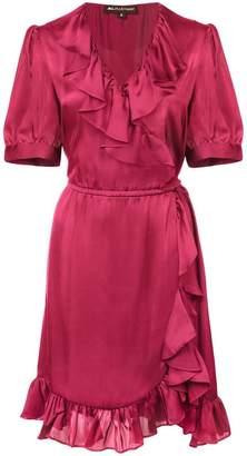 Jill Stuart ruffle short-sleeve dress