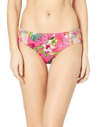 Hobie Junior's Cut Out Hipster Bikini Swimsuit Bottom