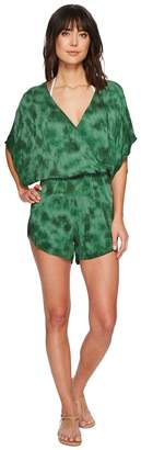 Green Dragon Crystal Forest Eliza Kimono Sleeve Romper Women's Jumpsuit & Rompers One Piece