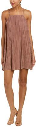 Sadie & Sage Pleated Mini Dress