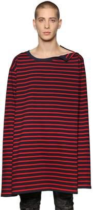Faith Connexion Striped Cotton Jersey T-Shirt