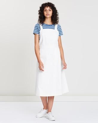 Polo Ralph Lauren Denim Apron Sleeveless Dress