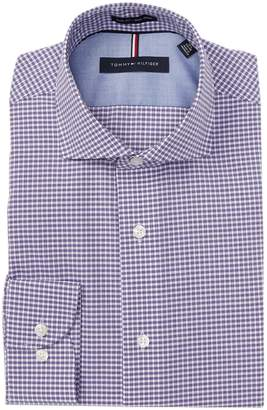 Tommy Hilfiger Check Slim Fit Dress Shirt