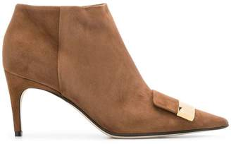 Sergio Rossi embellished ankle boots