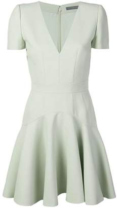 Alexander McQueen short skater dress