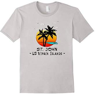 St. John Us Virgin Islands Tropical Caribbean Vacation Shirt