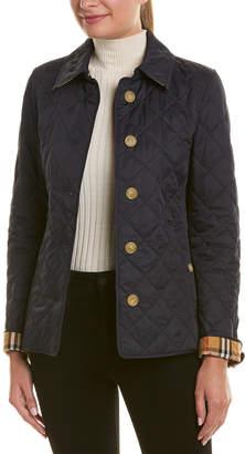 93be1c04822f Burberry Blue Women's Jackets on Sale - ShopStyle